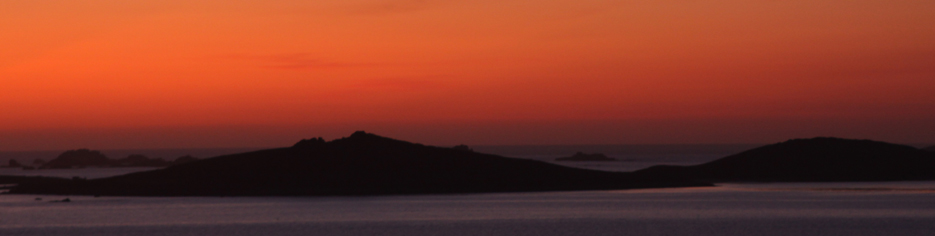 St Mary's Isles of Scilly Sunset